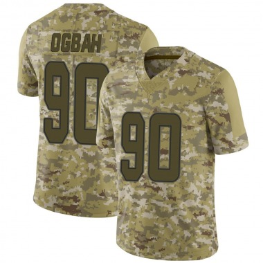 Men's Nike Miami Dolphins Emmanuel Ogbah 2018 Salute to Service Jersey - Camo Limited