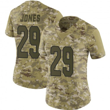 Women's Nike Miami Dolphins Brandon Jones 2018 Salute to Service Jersey - Camo Limited