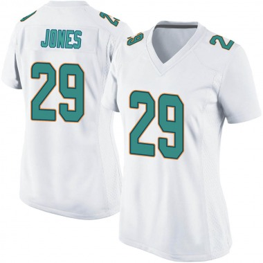 Women's Nike Miami Dolphins Brandon Jones Jersey - White Game