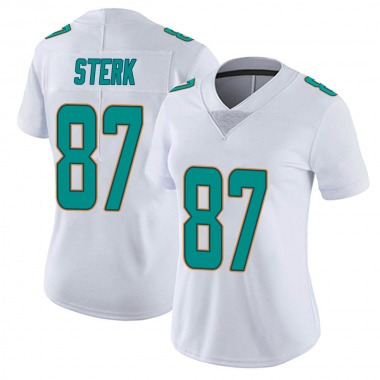 Women's Nike Miami Dolphins Bryce Sterk limited Vapor Untouchable Jersey - White