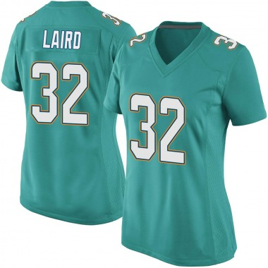 Women's Nike Miami Dolphins Patrick Laird Team Color Jersey - Aqua Game