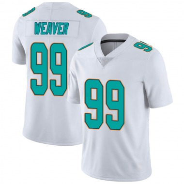 Youth Nike Miami Dolphins Curtis Weaver limited Vapor Untouchable Jersey - White