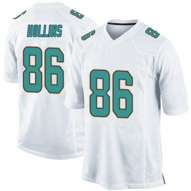 Youth Nike Miami Dolphins Mack Hollins Jersey - White Game