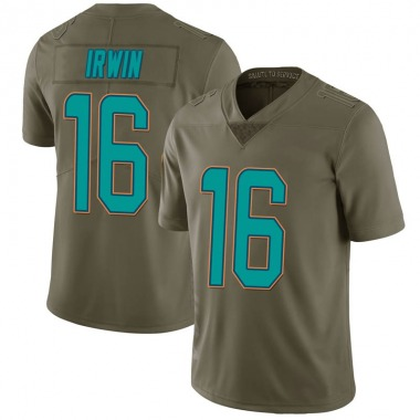 Youth Nike Miami Dolphins Trenton Irwin 2017 Salute to Service Jersey - Green Limited